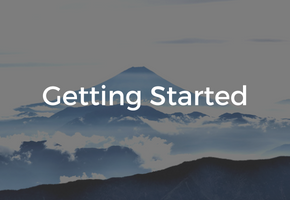 Home - Getting Started button