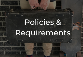 Home - Polices & Requirements